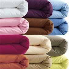1000TC 100% EGYPTIAN COTTON  Sheets/Set/Duvetcover/ Queen/Cal/King solid Color