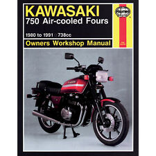 HAYNES 574 REPAIR SERVICE MANUAL KAWASAKI KZ/ZX750 1980-1985