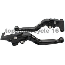 FXCNC CNC Folding&Extend Brake Clutch Levers For Yamaha FZ6R FZ8 XJ6 DIVERSION