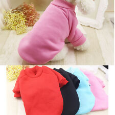 XXS-L Warm Dog Hoodie Pet Clothes Coat Clothing for chihuahua yorkie Schnauzer