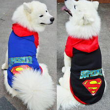 Large Extra Big Medium Small Dog Clothes Pet Puppy Hoodie Clothing Jacket Warm