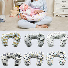 New Breast Feeding Pillow Maternity Pregnancy Nursing Baby Support Cotton Cover