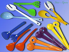2in1 Salad cutlery also as Salad tongs can be used, ca. 26-31cm salad Spoon Fork