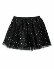 NWT Gymboree Blushing Swan Black Sparkle Dots Tutu Tulle Skirt SZ 6 Girls