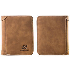 New Style Men Bifold Leather Wallet ID Credit Card Holder Billfold Purse Clutch