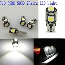 4pcs T10 5050 5SMD LED Car Wedge Side Signal Light Auto Bulb Lamp Super Bright