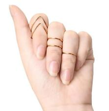 Knuckle 5Pcs Hot Finger Jewelry Women Joint Alloy Plated Ring V-shaped Metal Set