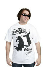 Famous Stars and Straps Mens White Black Skate Sk8 & Destroy T-Shirt NWT