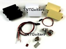 Dragonfire ACTIVE 81C 85A Humbucker Pickups, HH SET Color Choice, Works with EMG