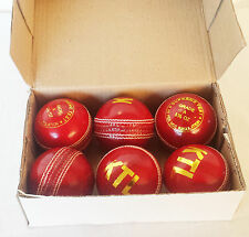Match Qualität Cricket Ball Grade A ball Senior 5.5oz hand stitched leather