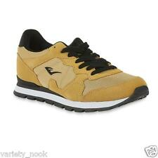 Men's Everlast Tan Athletic Shoe with Breathable Mesh and Synthetic Suede Upper