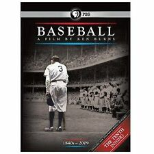 NEW! Ken Burns PBS Baseball Documentary DVD 11 Disc Set 2010 10th Inning