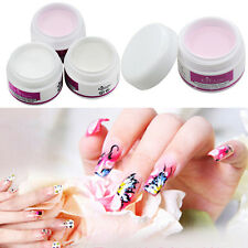 Sparkle Pure Color Acrylic Crystal Powder Nail Tips DIY Beauty Tool NEW Welcome