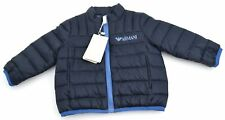 ARMANI BABY BOY LIGHT DOWN JACKET INDIGO BLUE CODE ADL02