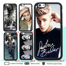 Justin Bieber Silicone Case Cover for IPhone 4 4S 5 5S 5C 6 6S PLUS 7 7Plus