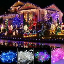 10M LED Xmas Christmas Tree Fairy Lights Party Wedding Outdoor String Light Gift