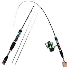 2-piece Freshwater Fishing Pole or Fishing Rod Combo Spinning Reel Kits Tackle