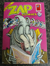ZAP comix #6 Last Gasp Underground R. Crumb Williams SPAIN Shelton Rick Griffin