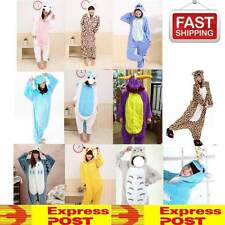 KIGURUMI COSPLAY ADULT FLEECE COSTUME PAJAMAS ONESIES ANIMAL SLEEP WEAR ONESIE