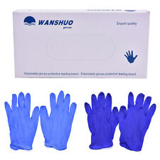 100pcs Disposable rubber work glove disposable pvc nitrile latex gloves New