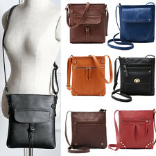 Women Lady Shoulderbag Leather Satchel Crossbody Messenger Bag Handbag Purse