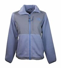 The North Face Womens Mid Grey/Pache Grey/Cool Blue Denali Fleece Jacket NWT
