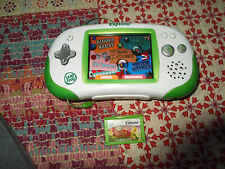 LeapFrog Leapster Explorer Learning System - Green  handheld system with games