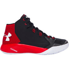UNDER ARMOUR WOMENS TORCH BASKETBALL BLACK RED SHOES **FREE POST AUSTRALIA