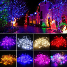 10M String 100 LED Christmas Tree Fairy Party Lights Lamp Xmas Waterproof