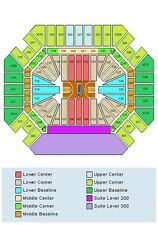 4 Tennessee Volunteers Mens Basketball Season Tickets and G10 Parking Pass