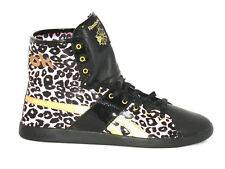 Womens REEBOK TOP DOWN ANIMAL PRINTS Black Trainers 32-J13130