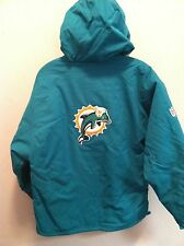 MIAMI DOLPHINS YOUTH JACKET  *NWT* Reebok Youth S, M, L