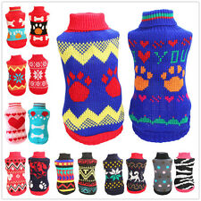 Dog Sweater Pet Puppy Cat Clothing Clothes chihuahua teacup Dog yorkie maltese
