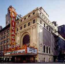 Photo Chicago Illinois United States historic theater performance art building