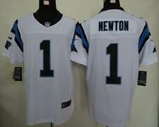 NEW! NFL Cam Newton Nike Elite Stitched Carolina Panthers Jersey #1 White Men's