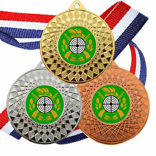 20 Target Shooting Medals & Ribbon, Rifle & Target Shooting Awards Trophy