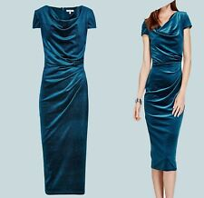 NEW EX PER UNA MARKS AND SPENCER BLUE SPARKLE PARTY DRESS 8 10 12 14 16 18 20 22