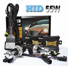 55W Bi Xenon HID Conversion KIT Headlights Ballasts H4 H13 9003/4/7 Hi/Lo Bulbs