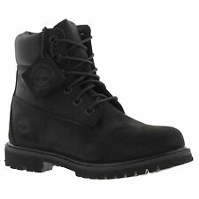 Timberland Womens Classic Black Waterproof Leather Ankle Boots C8658A
