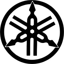 Yamaha Tuning Forks - Vinyl Car Window and Laptop Decal Sticker