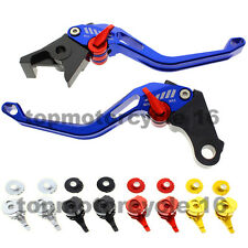 FXCNC CNC Blue 3D Brake Clutch Lever For Suzuki bandit gsf SV GSXR GSX DL B-KING