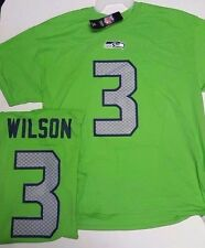 RUSSELL WILSON SEAHAWKS LIME ELIGIBLE RECEIVER MENS  SHIRT JERSEY TEAM NFL NEW