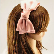 Cute Girl's Big Bowknot Hairband Headband Loop Hair Accessory Decor Nice Gift