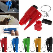 Car Auto Emergency Safety Hammer Belt Cutter Window Breaker Keychain Escape Tool
