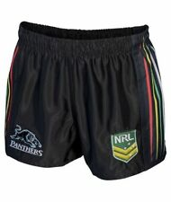 Penrith Panthers 2017 NRL Mens Supporter Shorts BNWT Rugby League Clothing