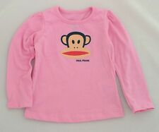 NWT Paul Frank Girl's Crew_neck Long Sleeve Cotton Tee Shirt / Pink / 18M