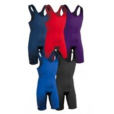 Brute E-Lycra 0128 Solid Color Wrestling Singlet - Youth and Men's Sizes