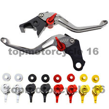 FXCNC Gray 3D Grain Rhombus Brake Clutch Hollow Lever Set For BMW R1200GS F800ST