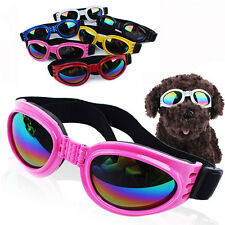 Small Pet Dog Goggles UV Sunglasses Sun Glasses Glasses Eye Wear Protection