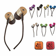 3.5mm In-ear Stereo Headphone Earphone Headset With MIC For iPhone Samsung